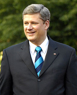 photo of PM Harper