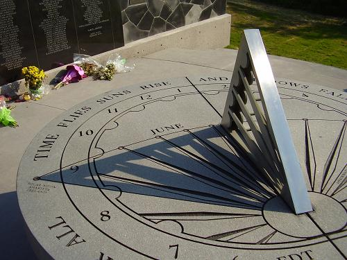 close-up photo of sundial