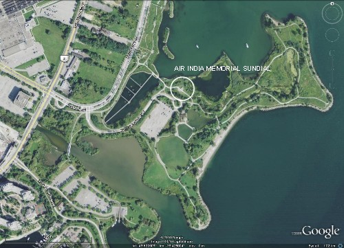 map of Humber Bay Park East