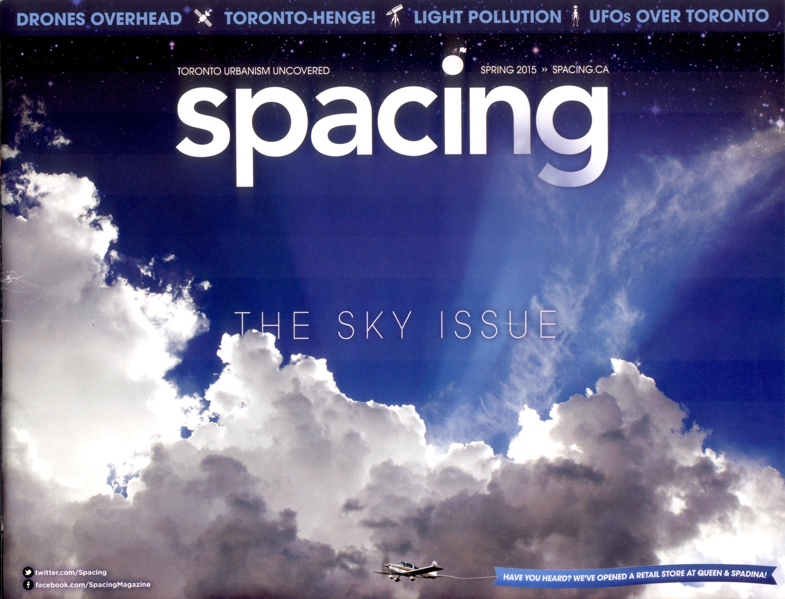 Spacing Mag cover page