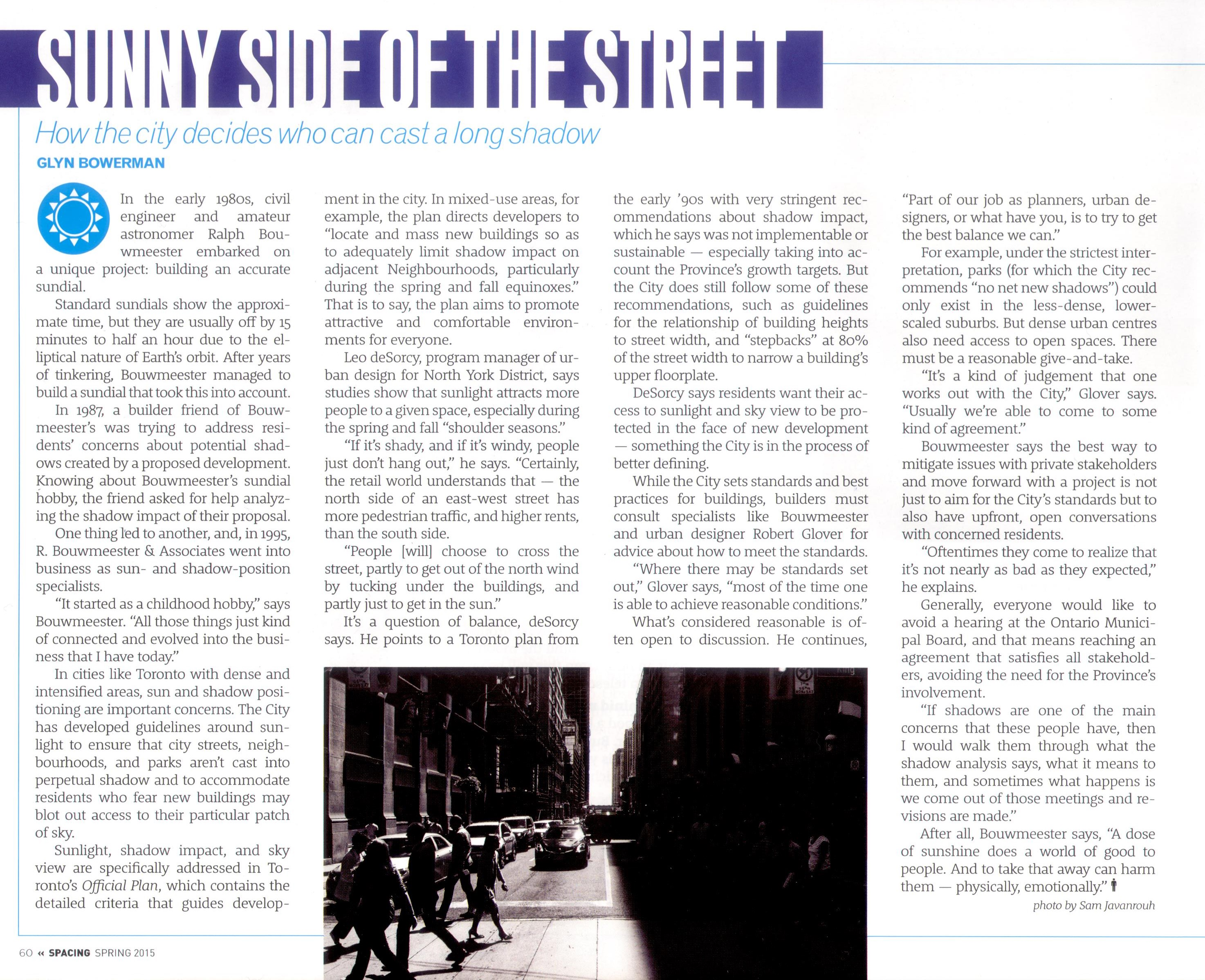 Spacing Mag - sunny side